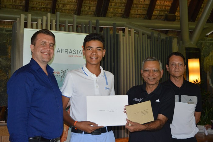At one month of the AfrAsia Bank Mauritius Open, 14-year old French Matheo Douessy delivers exceptional performance to win PRO AM ticket.