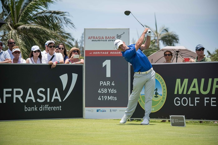 Gary Player inspires De Jager to lead AfrAsia Bank Mauritius Open