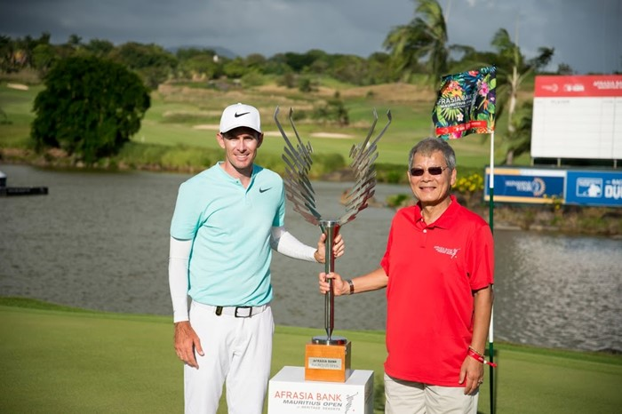 Double delight for Dylan after AfrAsia Bank Mauritius Open win