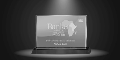 AfrAsia bags the Best Corporate Bank 2018 award for the second year in a row