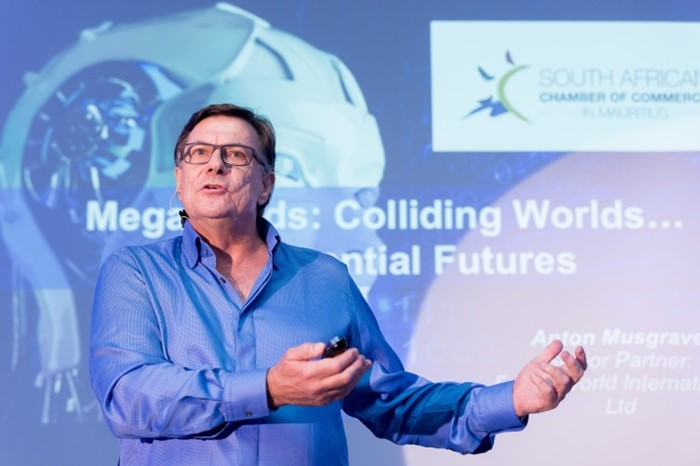 AfrAsia & SA Chamber of Commerce host futurist expert, Anton Musgrave, for thought-provoking experience