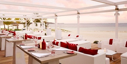 Beach Rouge at LUX* Belle Mare