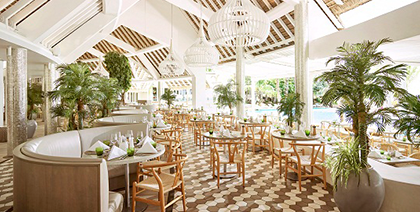 Palm Court at LUX* Grand Gaube