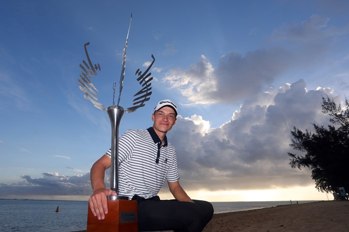 Danish teenager wins AfrAsia Bank Mauritius Open in playoff