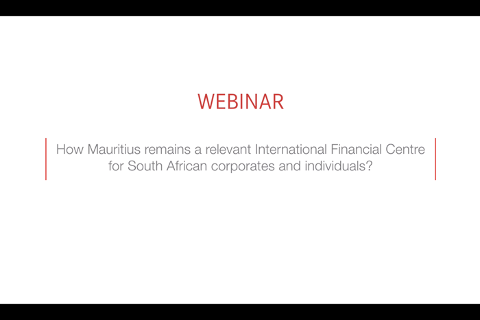How does Mauritius remain a relevant International Financial Centre for South African corporates and individuals?