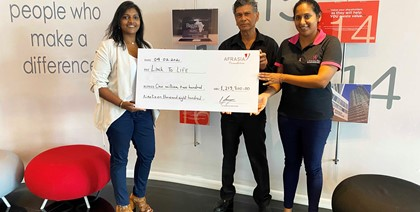 AfrAsia Bank Mauritius & Link to Life:  Together to support cancer awareness in Mauritius